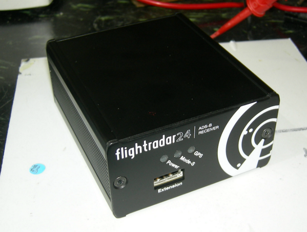 First picture of second generation Flightradar24 ADSB MLAT