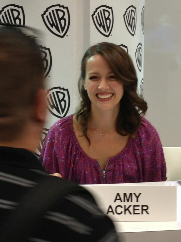 Very much amy acker cunt does not