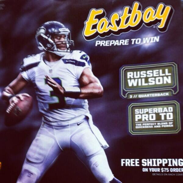 """1391907cf """" DangeRussWilson  Did you get your new  Eastbay catalog!   pic.twitter.com Uj221VIayg"""" holy crap Eastbay still exists!"""