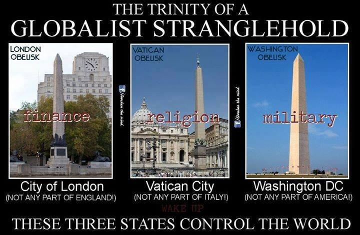 """truther monkey on Twitter: """"THE TRINITY OF A GLOBALIST STRANGLEHOLD. THESE  THREE STATES CONTROL THE WORLD . http://t.co/U0IDqf5u2P"""""""