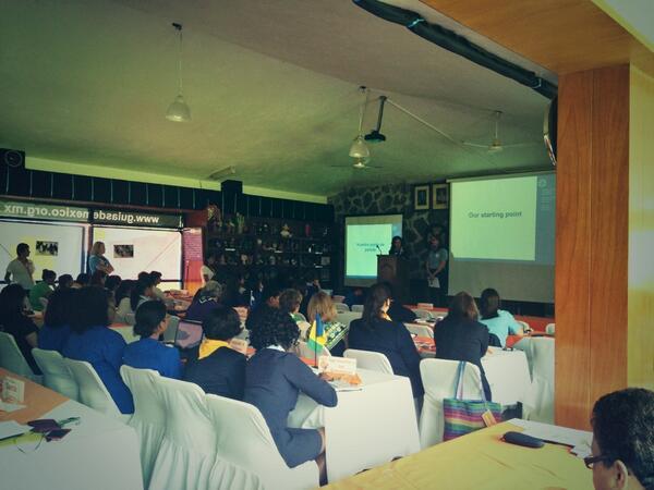 En sesión .... Conferencia Regional del Hemisferio Occidental #WAGGGS pic.twitter.com/MGwa8QGRjm