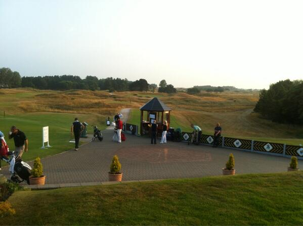 It's quiet at the moment and we're all set for the 2013 Seniors Open Championship Qualifying http://t.co/E5Etu0ZANh