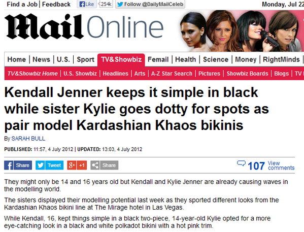 Photo is a screen grab on the Mail Online website