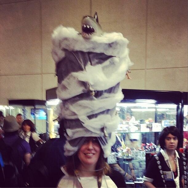 sharknado hat cosplay