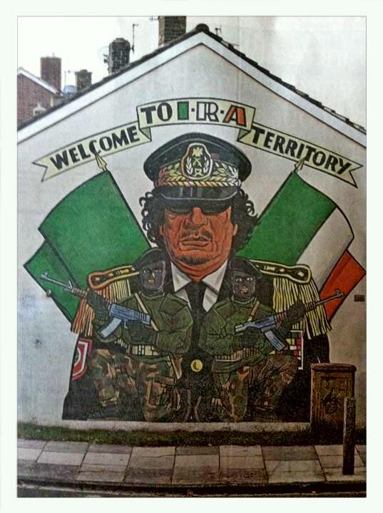 Ira murals northern ireland wall murals for Mural northern ireland