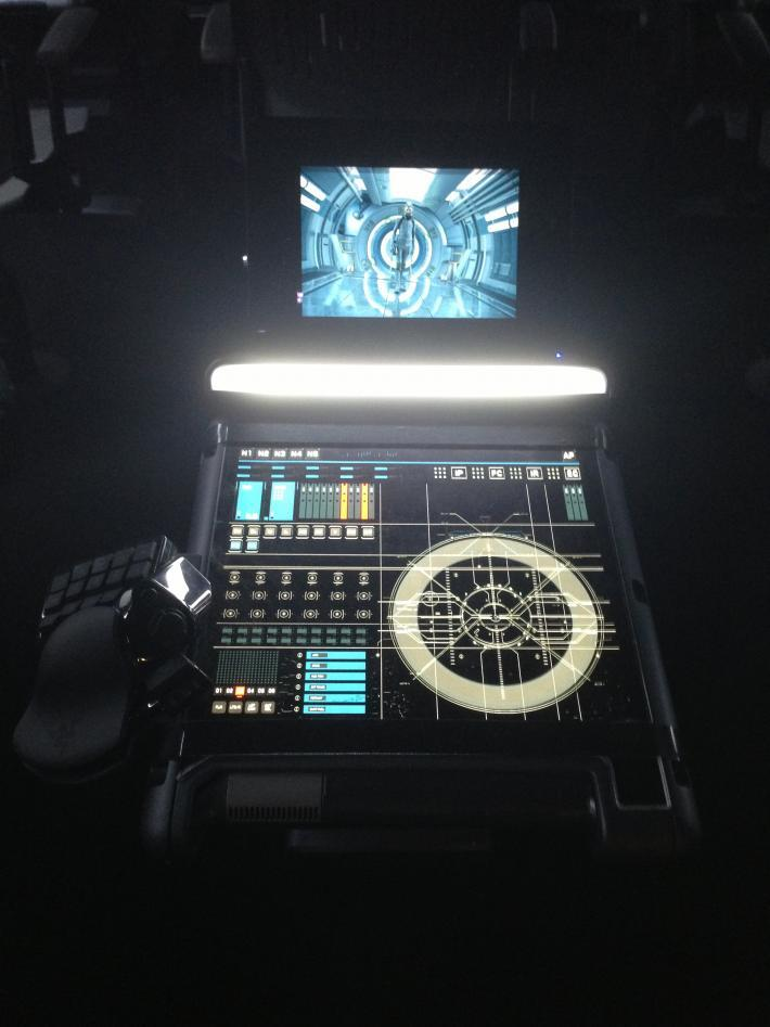 Nostromo game pads used in Ender's Game movie