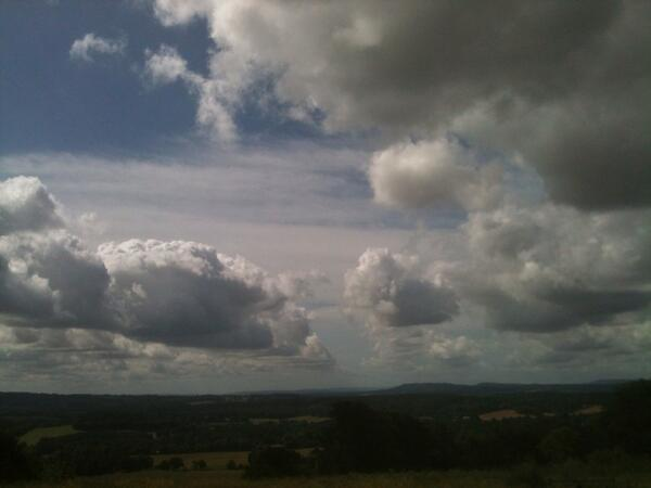 Matt: beautiful view from top of first big hill in Surrey #RideLondon100 http://pic.twitter.com/Tdm0H5WEaL