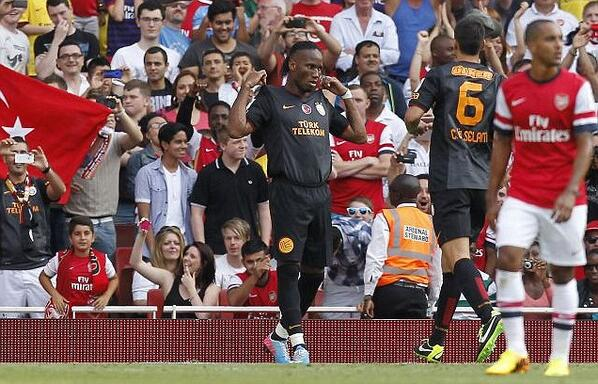 Terrible but Brilliant: Didier Drogba returns to haunt Arsenal, diving and scoring twice