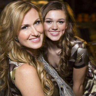 Two lovely ladies from Duck Dynasty.