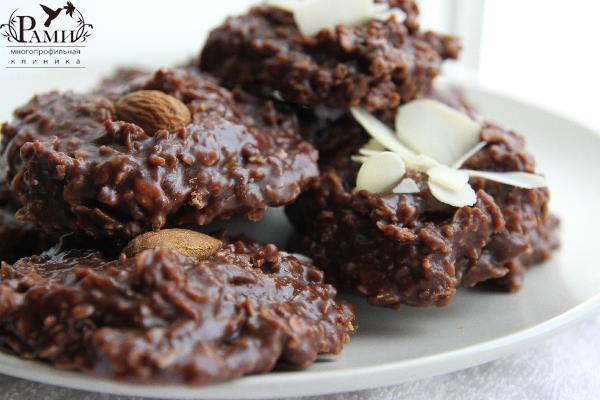 Рецепты овсяного печенья видео фото