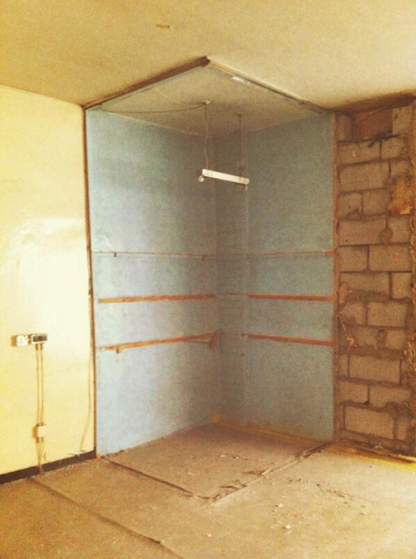 RT @James__Dixon: An otherwise bare room, haunted by the memory of a stationary cupboard. http://t.co/1MLppslJ96