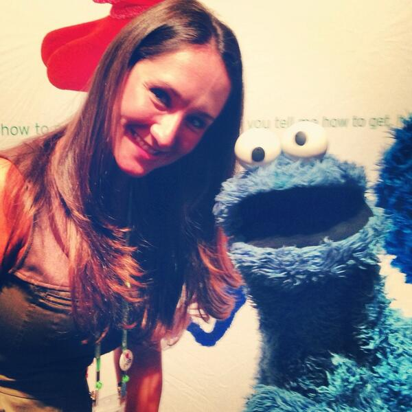 Hanging out with Cookie Monster at #TCAs13 #mewantcookie pic.twitter.com/GVbHbiElGC