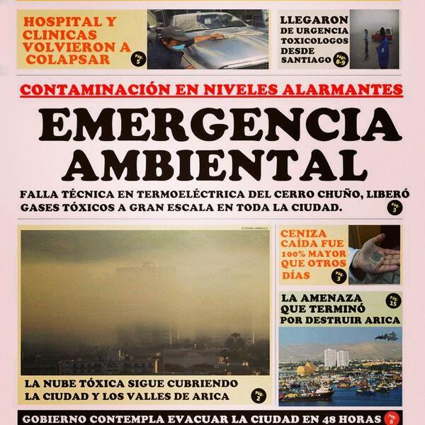 Arica, si construyesen la Termoelectrica @RomiLancellotti @rubionatural  @acaniulef  RT  #PorUnAricaSinContaminacion pic.twitter.com/l7IVBjL04V