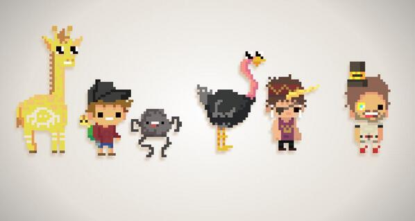 Super Adventure Pals Pixelated!