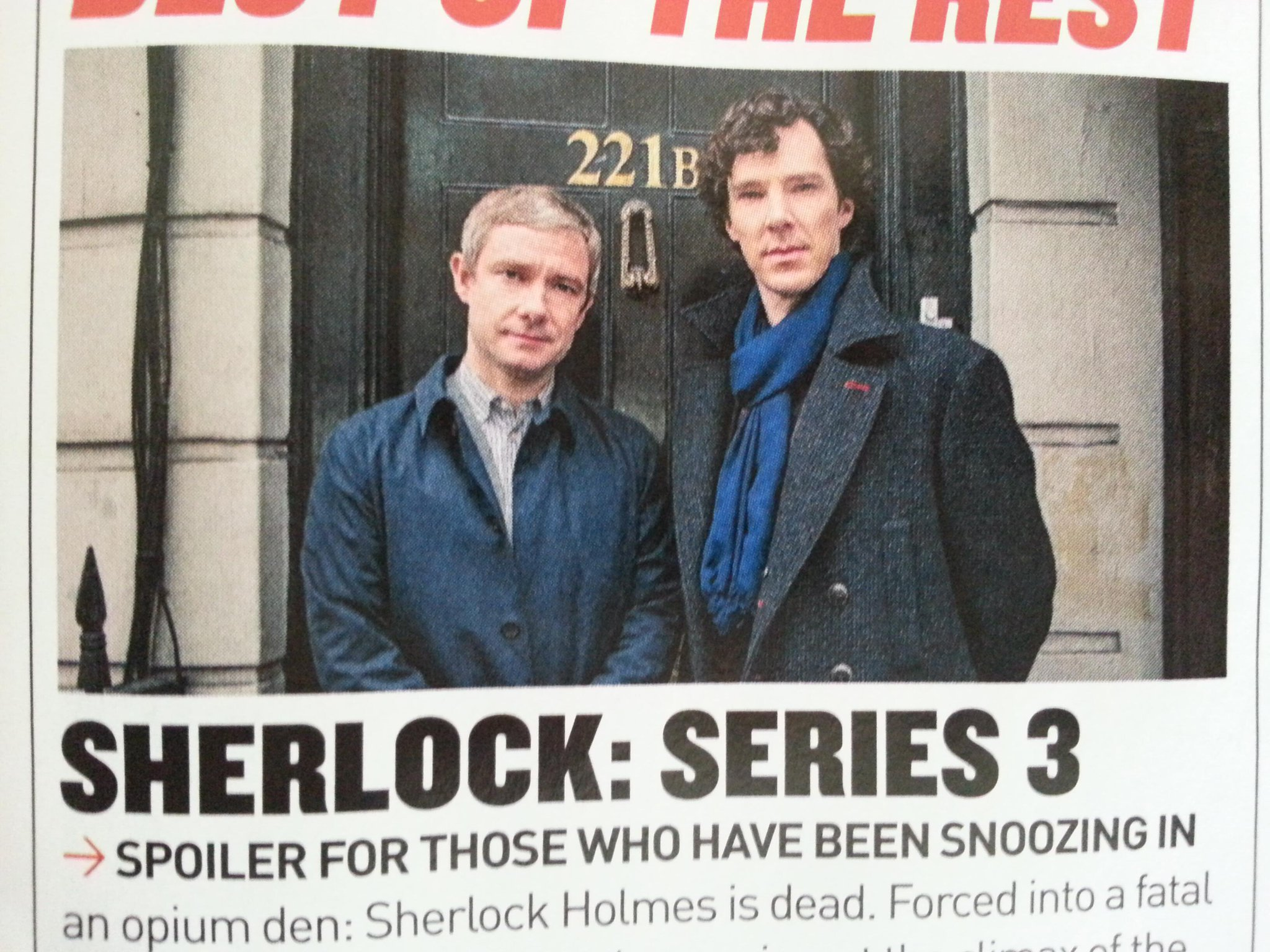 Twitter / Sherlockology: The first official promo photo ...