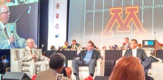 Coach Kill at the Bigten luncheon pic.twitter.com/j9VCxJ95GS