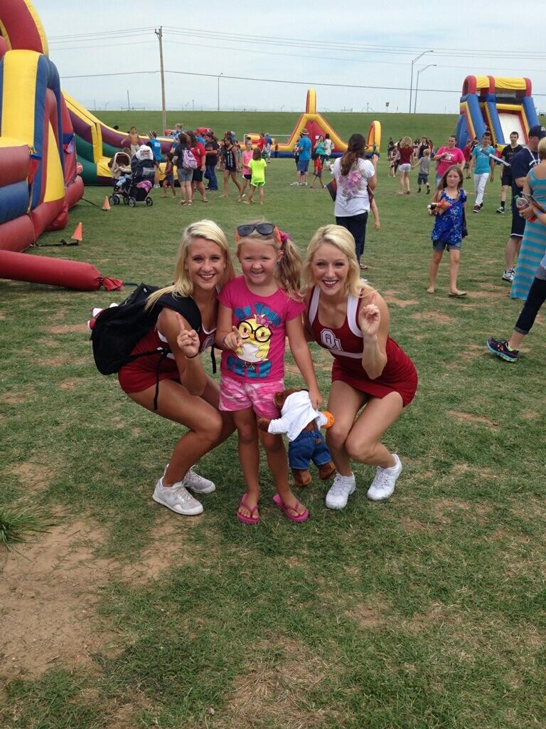 "Oklahoma Sooners on Twitter: ""Great day at Moore Schools ..."