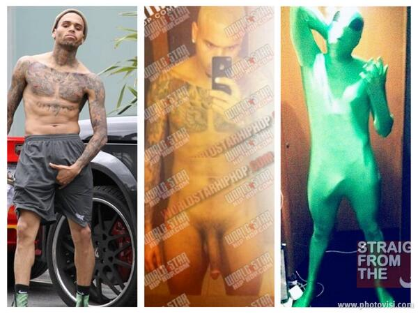 Chris brown naked pictures exposed, tender sex