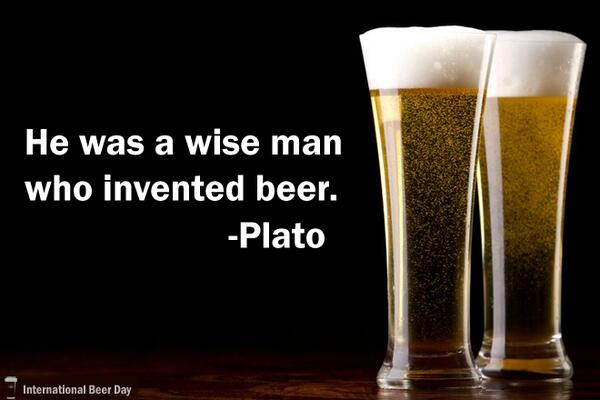 Intl Beer Day On Twitter He Was A Wise Man Who Invented Beer