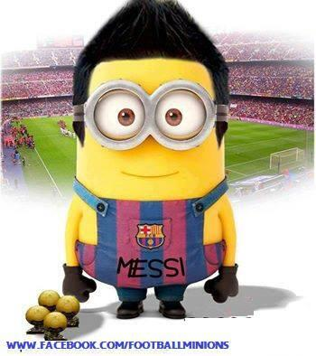 Amigurumi Fan Club Minion : Barca Fans Club on Twitter: