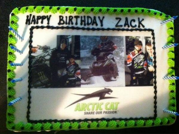 Arctic Cat Snow on Twitter What a cool Birthday Cake httpt