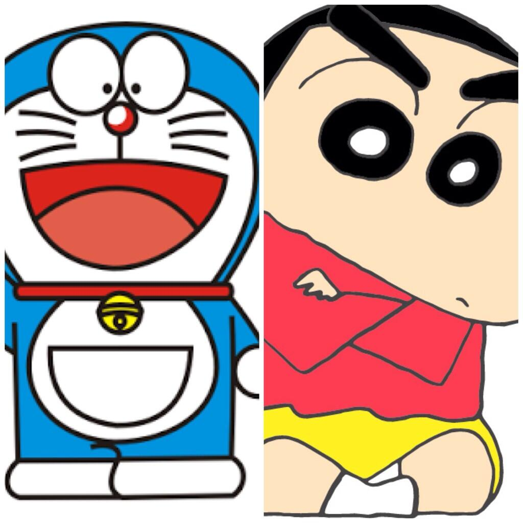 "RetweetAtauFav on Twitter: ""Choose One Doraemon vs Shin ..."