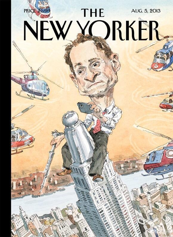Thumbnail for The New Yorker's Anthony Weiner Cover Lights Up Social Media