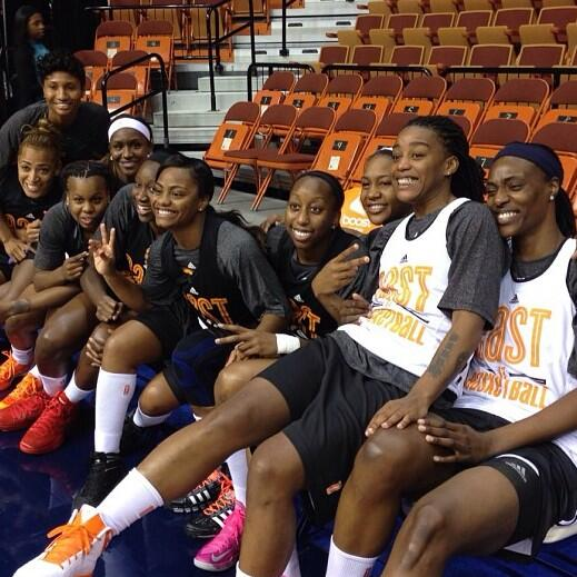 """Chicago Sky on Twitter: """"Check out the East @wnba All ..."""