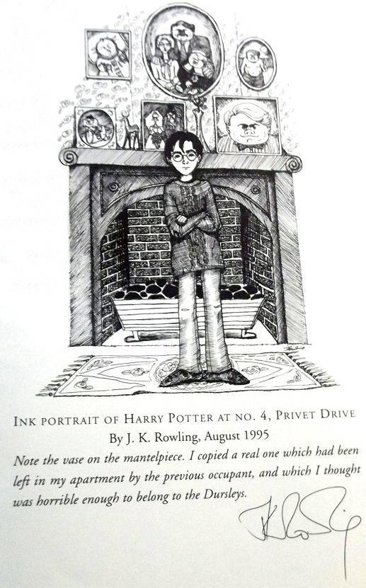 Harry Potter World On Twitter Jk Rowling S Own Drawing Of Harry