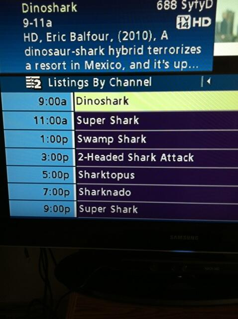 Today's SYFY lineup is a thing of beauty and wonder. http://t.co/zcKVO2qADw