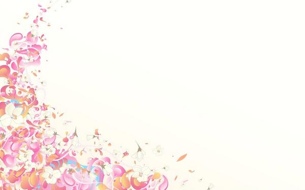 pink and white background - HD2880×1920
