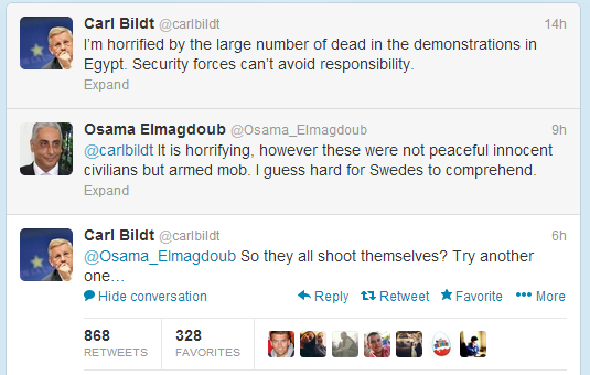 Thumbnail for #Egypt: Ambassador to Sweden vs Sweden's FM