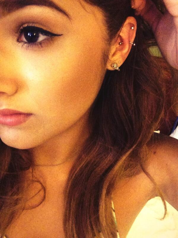 "Chachi Gonzales on Twitter: ""First day rockin out my new ... Ear Piercings Snug"