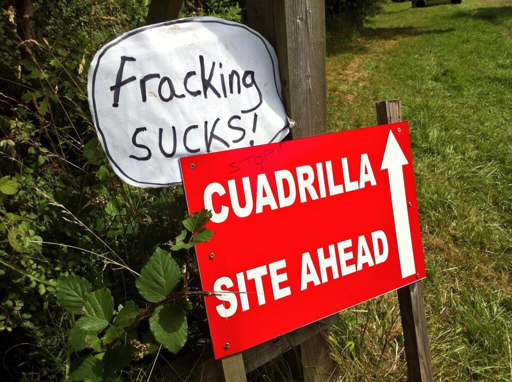 Fracking sucks! Stop Cuadrilla #Balcombe #GreatGasGala http://t.co/we24pDVozu
