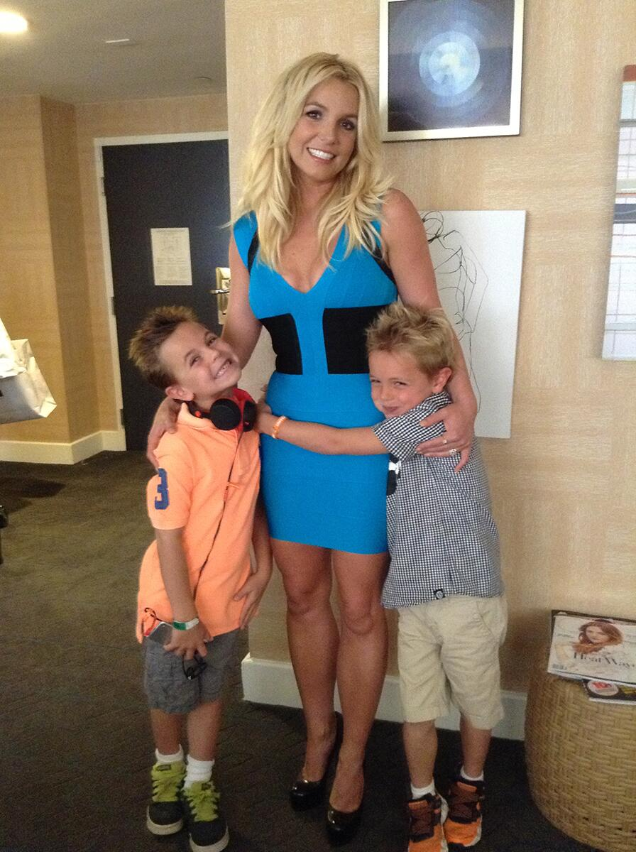 Twitter / britneyspears: Getting ready with my baby ...
