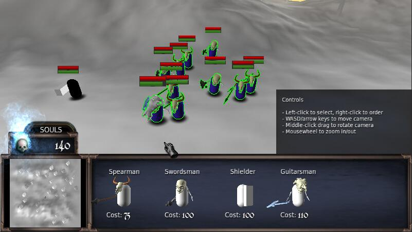 Screenshot of Strat Souls