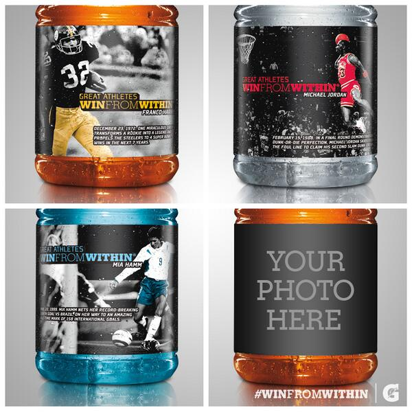 Great athletes inspire. Follow their lead & show how you #WinFromWithin on a digital bottle. http://t.co/bLYu8V03Ac http://t.co/uWLXZ5WcwA