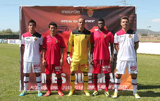 Equipaciones RCD Mallorca 2013-14