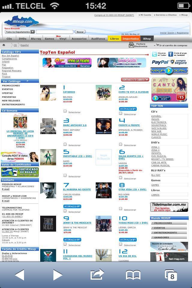 Charts/Ventas >> Álbum Catarsis (#1Mx, #4 USA) - Página 4 BQc048UCEAAeiJY