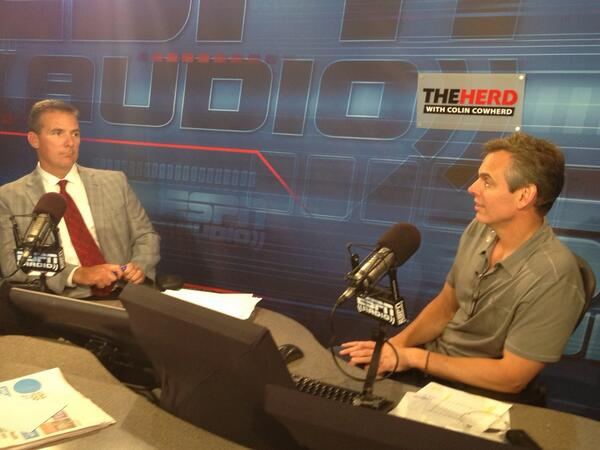 It's Urban Meyer #intheHERD. #ESPNB1G pic.twitter.com/eIpkgZsXvi