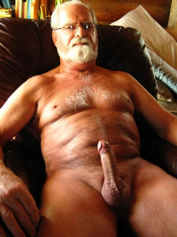 Hot sexy naked older men
