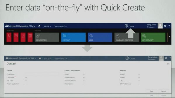 Create new Contacts or Leads On-the-fly with #msdyncrm #crm2013 #timesavingfeature pic.twitter.com/NnY4ZM68AO