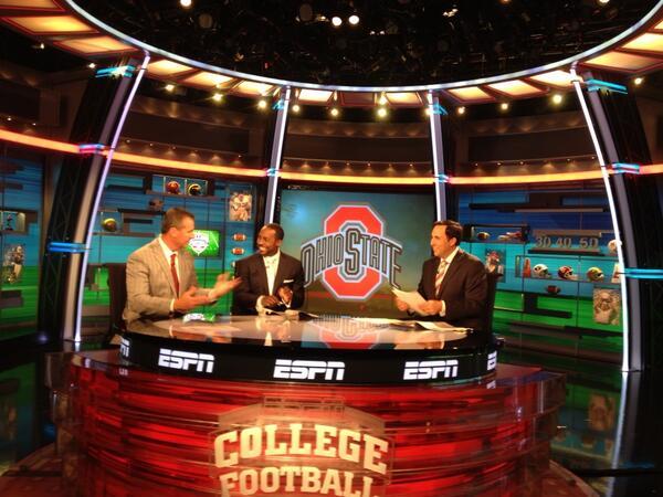 Go Bucks! #ESPNB1G #GoBucks pic.twitter.com/bPiORNux2q