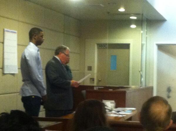 Terrence Jones in court hearing for allegedly stomping homeless man