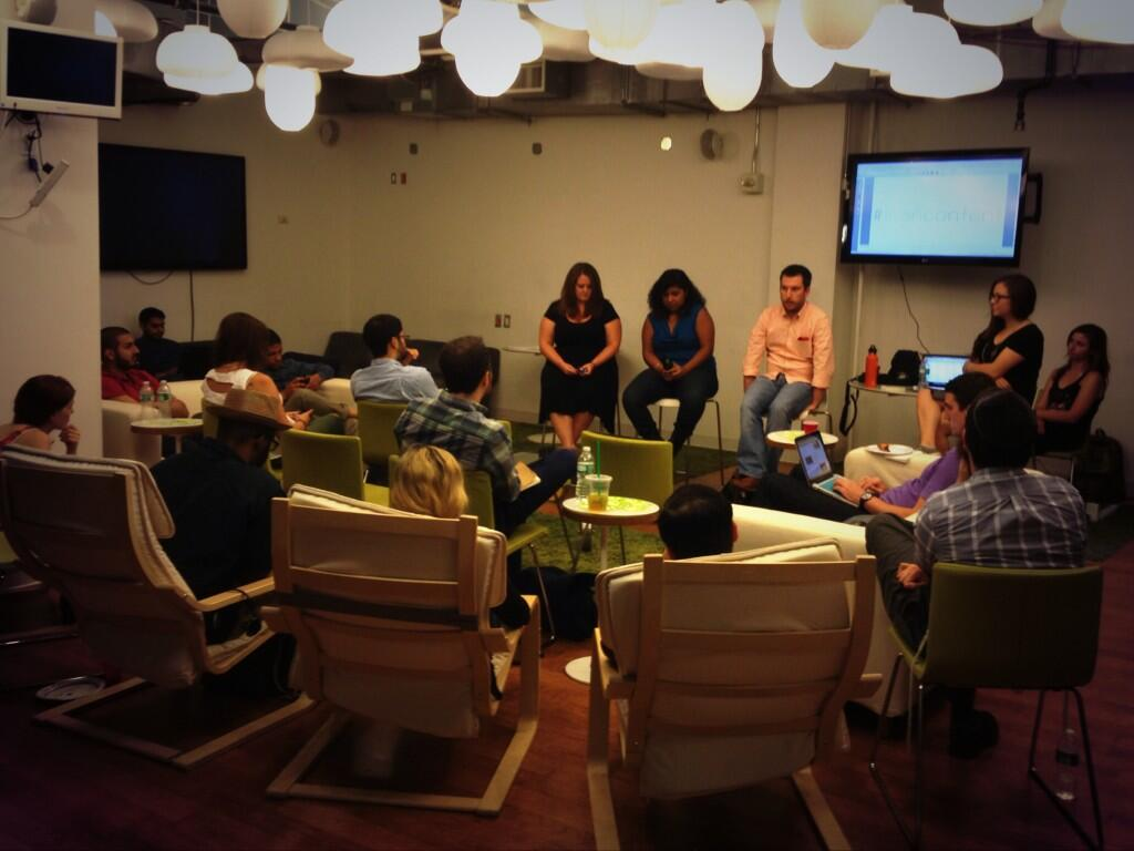 Twitter / scoopit: Last night's #leancontent panel ...