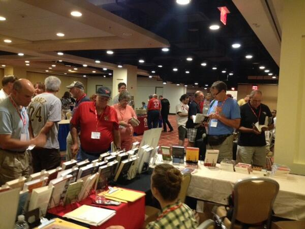 View from the booth: #SABR43 is under way! @sabr pic.twitter.com/BaDtiX0b2Q