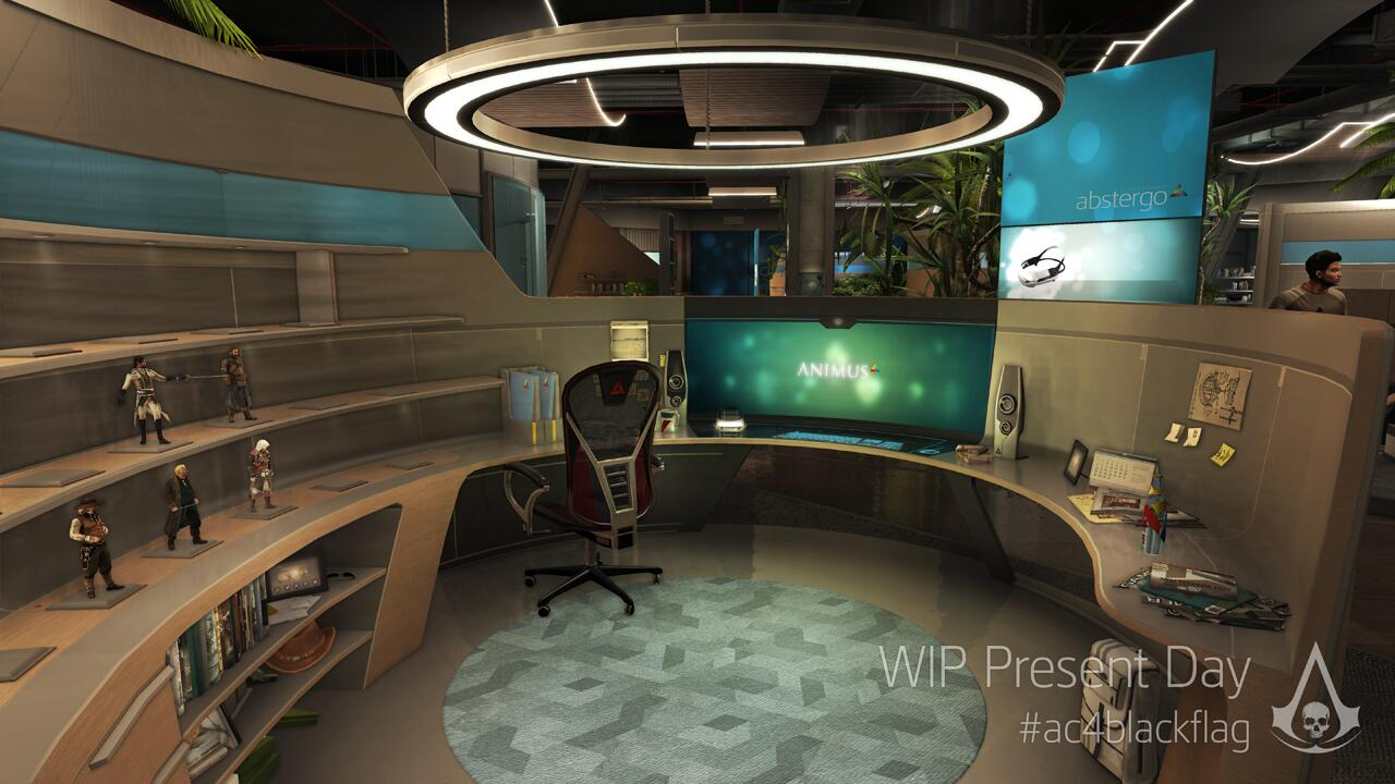 Abstergo office