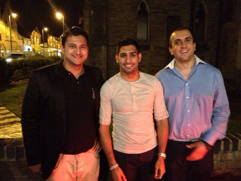 Amir Khan Twitter