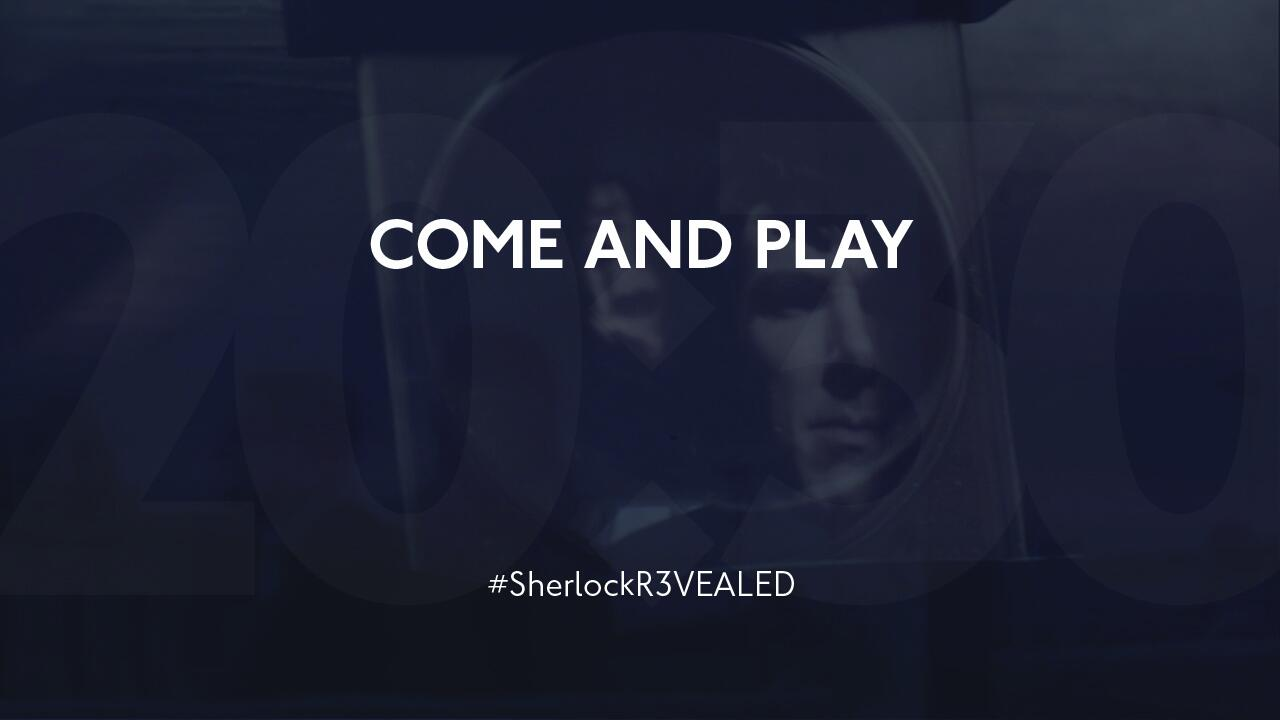 Twitter / Sherlockology: COME AND PLAY #SherlockR3VEALED ...