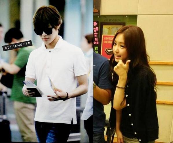 Taemin and what naeun to happened Korean netizens